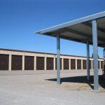 Covered Camper Storage